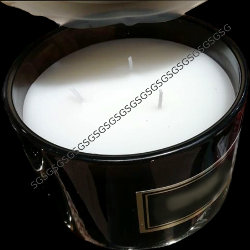 Black Container Scented Candles.