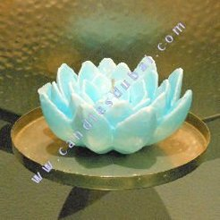 Color Lotus Candles