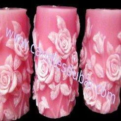 Color Decorative Candles.
