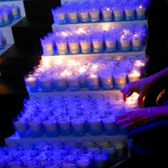 Earth Hour Candles- Corporate Branding