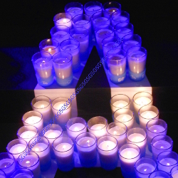 Earth Hour Candles Customization