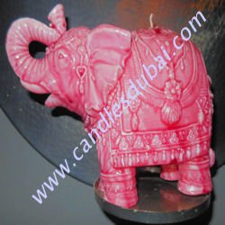 Designer Elephant Candles