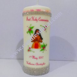Girl Communion Candle