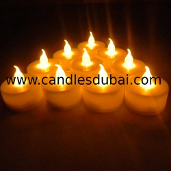 Spa LED Tealight Candles