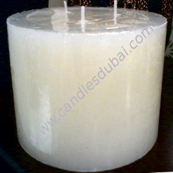 Multi-wick Pillar Spa Candles