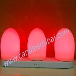 Customized LED Candles  Color Logos Messages