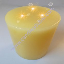<p>Spa Pillar Candles.</p>