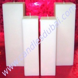 Pillar Candles-Square-Large-Events-Hotels-Weddings.
