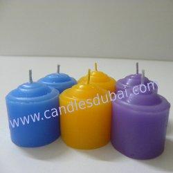 Color Votive Candles Party Events.