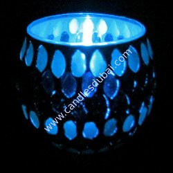 Tealights in Glass Holders.