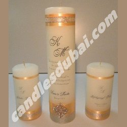 Wedding Candles.